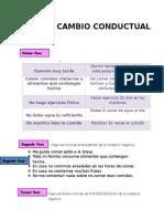 Cambio Conductual 1