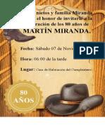 INVITACION vaquera