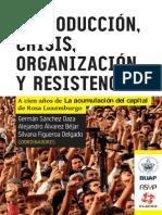 Reproducción Crisis Organización Resistencia Sánchez