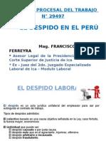 Despido en El Peru