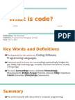 What is Code