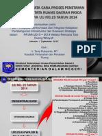Percepatan Infrastruktur Dalanm Revisi Permendagri 28 (Kemendagri)
