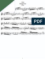 Adam.hongroise Fl.ed.Sheet Music