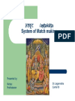 Sanjay Rath - System of Match Making