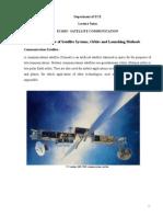Satellite Communication Notes