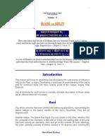 astrology Lesson 5 - Rasi