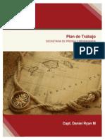 Plan de Trabajo Secretario de Prensa