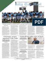 The Daily Tar Heel for Nov. 6, 2015