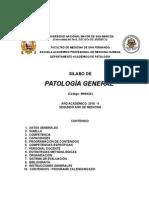 Silabo Patologia General 12 08 2015
