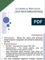 Kuliah 2 (Physical Chemical Principles)