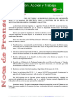 Nota de Prensa Seguridad Privada 19-03-2010