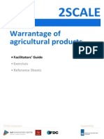 Warrantage of Agricultural Product