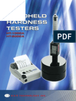 Get Information on Handheld Hardness Tester