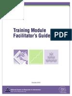 Training Module Facilitator's Guide