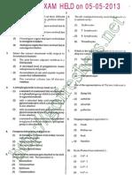 NEET 2013 Question Paper
