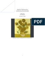 Applied Mathematics Mam1044H sunflower and fractal project