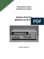 Manual Lcr Hp 4263b