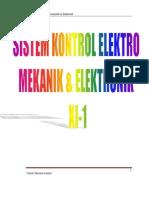Sistem Kontrol Elektro Mekanik Elektronik Xi 1