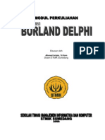 Materi Kul. Borland Delphi