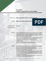 DPA31 Cinco Planos_Caligrafia y Representación en La Obra de Mitjans
