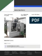 Centro Di Lavoro-A Portale-PARPAS FAMU-PHS 812-142