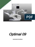 Optimal 09 User Manual RO