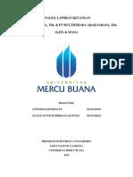 Analisa Laporan Keuangan GJTL MASA