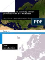 Comparison of Building Permit Procedures