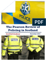 The Pearson Review of Policing in Scotland