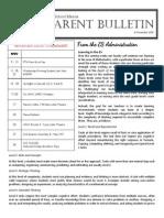 ES Parent Bulletin Vol#7 2015 November 6