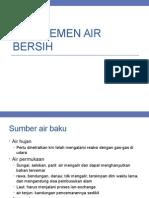Manajemen Air Bersih