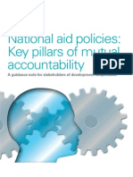 National aid policies