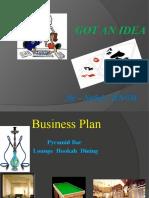 "Satish Business Plan-Opening a club ""Pyramid"""