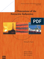 Gender Dimensions of the Extractive Industries
