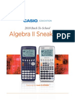 Algebra II Sneak Peek
