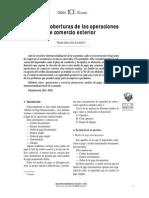 Riesgos y coberturas de las operaciones de comercio exterior