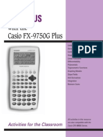 Calculus and the FX-9750G Plus
