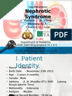 Sindrom Nefrotik Case