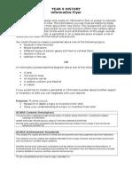 flyer task sheeteport