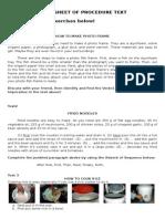 3. Worksheet Procedure