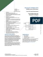 CSR 8635 Datasheet