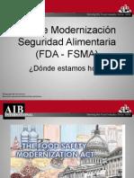 Ley modernización seguridad alimentaria
