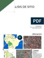 Analisis de Sitio (Ejemplo)