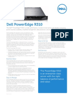 Dell Power Edge R310 Spec Sheet