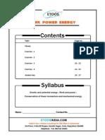 Work Power Energy Etoos