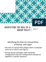 Module 3_Lecture 7 - Implementing Group Policy