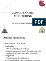 Monitoringn hemodinamik