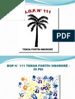 Presentación III PEI BOP 111