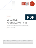 Estanque Australiano TV 68