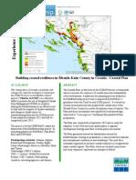 Building coastal resilience in Šibenik-Knin County in Croatia - Coastal Plan